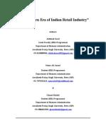 Full Paper-The Modern Era of Indian Retailing