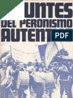 Apuntes del Peronismo auténtico.