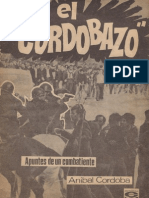 Córdoba, Anibal. El Cordobazo