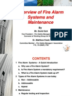 FSMAS Overview of Fire Alarm Systems & Maintenance