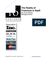 The Reality of Freemium in SaaS