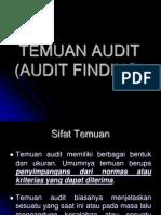 (1)Temuan Audit(7)
