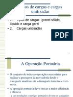 Operação Portuária Tipos de Cargas e Unitizadas