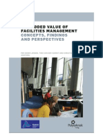 Added Value of Facilities Management Concepts Findings and Perspectives