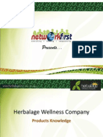Herbalage Products Knowledge
