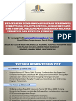 KPDT D5 on Diskusi Regional KTI 2011 @ Mataram 181011