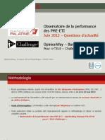 Observatoire de la performance des PME-ETI Juin -18ème éd - complet
