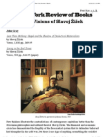 The Violent Visions of Slavoj Žižek by John Gray | The New York Review of Books