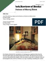 The Violent Visions of Slavoj Žižek by John Gray | The New York Review of Books