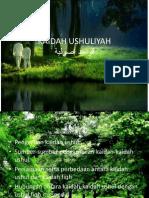 KAIDAH USHULIYAH