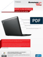 X130e Intel Datasheet