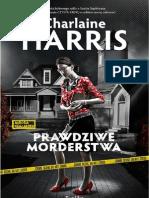 """Charlaine Harris, """"Prawdziwe Morderstwa"""", Wydawnictwo Replika 2012"""