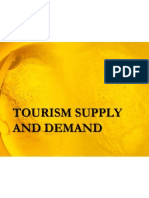Tourism Supply and Demand b