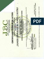 Certificado Avanzado Jose Blanco