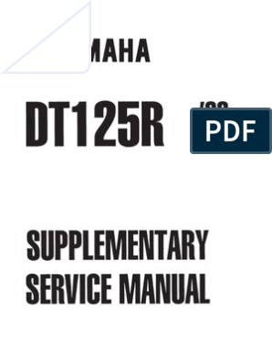 DT125 3BN0-ME5 repair manual | Jet Engine | Vehicle Technology on
