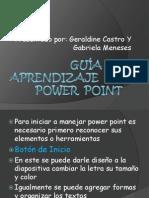 Guía De Aprendizaje  de Power  Point