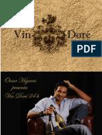 Vin Doré 24k Presented by Licor Enigma