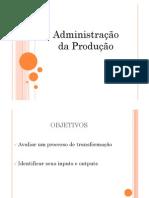 Acad c Administracao Da Producao e Servicos