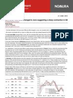 Evropská ekonomika, aktuální PMI data (dokument v AJ)