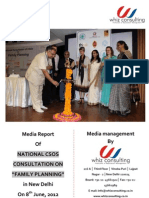 Media Report - National CSOs Consultation on Family Planning by Whiz Consulting