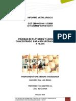 Informe Metalurgico Cot Sm 0051 00 - PDF
