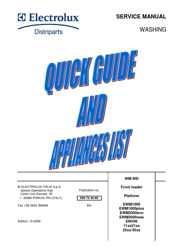 Washmachine guide | Switch | Power Supply