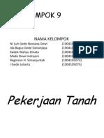 PEKERJAAN TANAH-GEOJAL