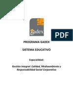 SISTEMA EDUCATIVO Gestión Integral