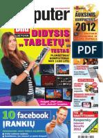 """7/2012 """"Computer Bild Lietuva"""" – Planšetinių kompiuterių testas"""