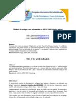 Modelo Artigo Ic ADM2009