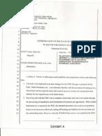 4 Case File California Jolley v. Chase Home Finance. Llc, Et Al. Declaration of Jeffrey Thorne