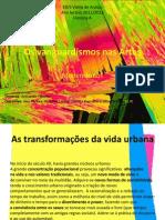 Abstraccionismo e Futurismo - Vanguardismos Nas Artes