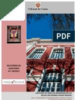 tribunal de contas 2012_auditoria às obras de modernização da escola secundária passos manuel [relatório]