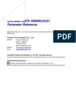 BSC6900 UMTS Parameter Reference(V900R012C01_06) RF Parameters