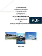 Cleveland Supplemental RFIQ 5-18-12