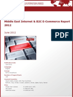 Brochure & Order Form_Middle East Internet & B2C E-Commerce Report 2012_by yStats.com