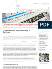 Current Account Surpluses Likely to Continue | Nippon