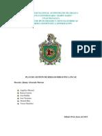 Planificacion de Desastre Biblioteca Incae
