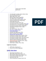 List of Secondary Schools in Nigeria