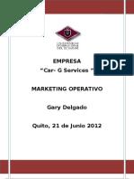 Marketing Gary Delgado Car-g Services