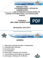 Relaciones Interpersonales y Estilos de Comunicacion [Autoguardado]