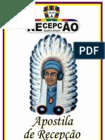 APOSTILA DE RECEPÇÃO
