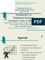 1_Intro to Statistical Analysis