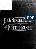 400 Years of Freethought (1894) Putnam, Samuel Porter, 1838-1896