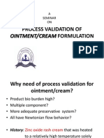 Process Validation of Ointment Creams 2