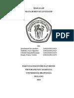 Analisis PATH Kasus