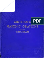 Metham's Masonic Orations