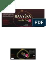 Diseño de etiquetas