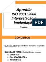 6719395 Apostila Interpretacao e Implantacao ISO 9001