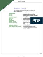 Proteus VSM Sample Files
